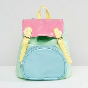 UNIF NWOT Colorblock small backpack